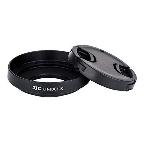 JJC LH-JDC110 Gegenlichtblende für Canon Powershot G1X Mark III Kamera, Schwarz