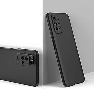 携帯電話ケース Huawei Honor 30S 30ス3段スプライシングフルカバレッジPC保護ケースに最適 (Color : Black)