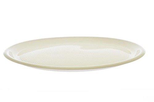 Piatti Plastica Pizza Round 350mm cfz 12pz (Bianco)