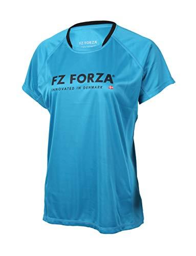 FZ Forza - Sport T-Shirt Blingley - blau, für Damen - geeignet für Fitness, Running, Fußball, Squash, Badminton, Tennis etc. - L