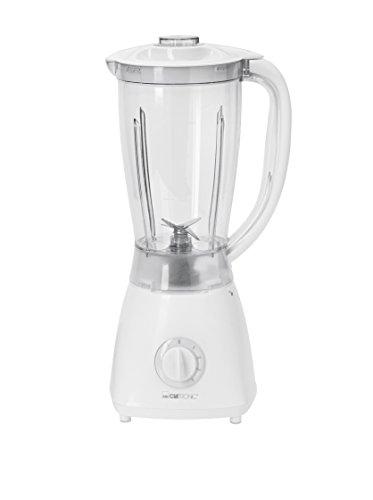 Clatronic UM 3470 // Universalmixer ideal für Küche & Bar // Ice-Crush Funktion // 1.5 Liter Fassungsvermögen // Edelstahlmesser // 500 Watt