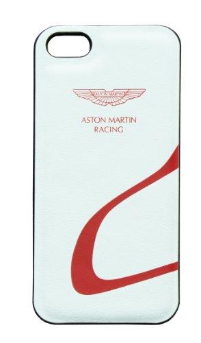 Aston Martin Racing - Custodia per iPhone 5, Colore: Bianco/Rosso