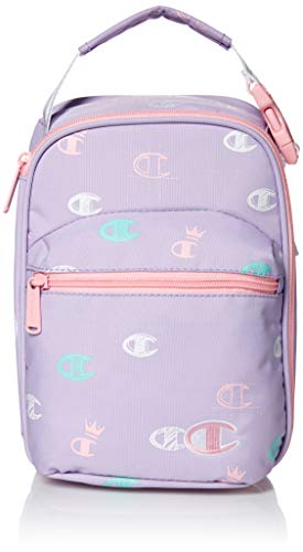 Champion Girls' Big Supercize Lunch Kit, Purple, Youth Size