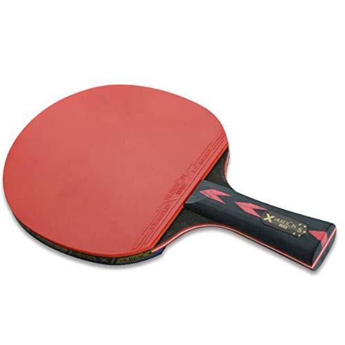 Weisin - Juego de palas y pelotas de ping pong para jugar en interiores o exteriores, incluye 3 pelotas, PC, Disparo horizontal dos, As Description Show