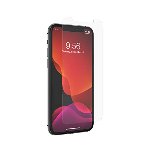 ZAGG InvisibleShield Glass+ Screen Protector - high-Definition Tempered Glass Made for Apple iPhone 11 Pro Max - Impact & Scratch Protection