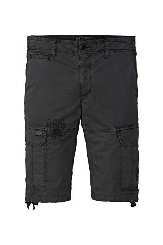 Camp David Herren Cargo Shorts mit Prints und Stickereien