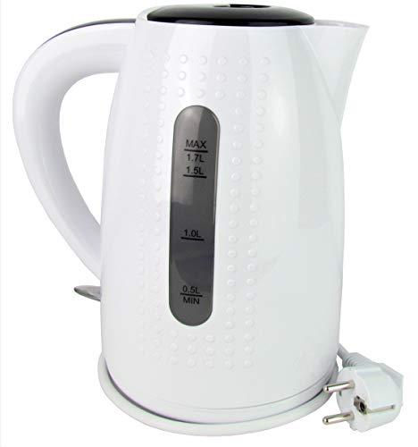 Wasserkocher Basic - 1,7 Liter. - max. 2.200 Watt - Farbe weiss