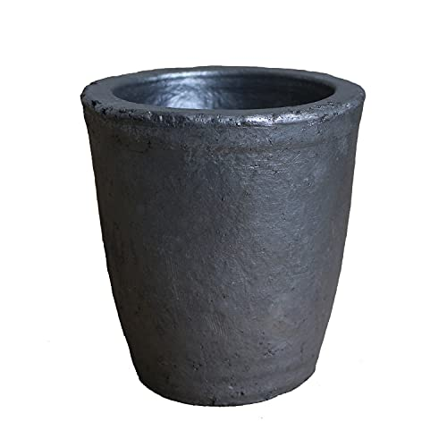 4KG Foundry Clay Graphite Crucibles Cup Furnace Torch Melting Casting Refining for Gold, Silver, Copper, Brass, Aluminum