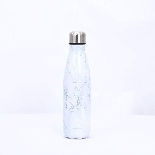 Heliansheng Botella de Agua de Bolos de galvanoplastia 04 Botella de Agua Deportiva de Acero Inoxidable Termo -BAI Dali-500ml