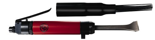 Chicago Pneumatic CP7120 Air Powered Adjustable Needle Scaler and Chisel, 4,600 BPM