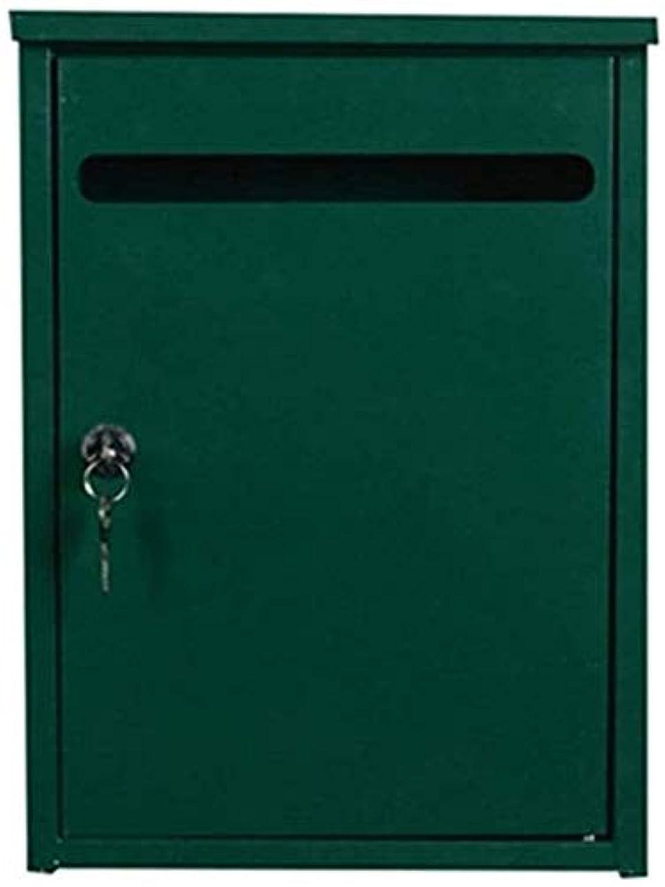 小石法医学抑止する壁には、メールボックスの長方形のロックメールボックス外郵便ボックスポストボックスセキュアレターボックスをマウント 1031