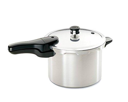 Presto 01264 6 Quart Aluminum Pressure Cooker, 6 QT, AS SHOWN