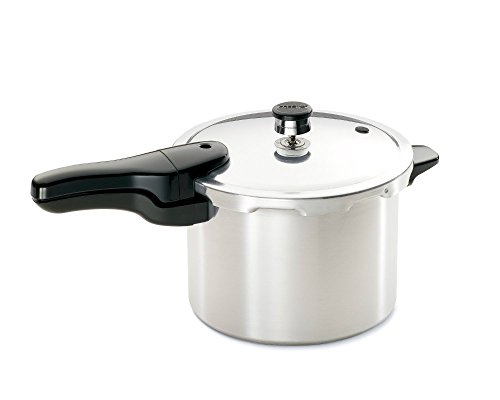 Presto 01264 6 Quart Aluminum Pressure Cooker, 6 QT, AS SHOWN