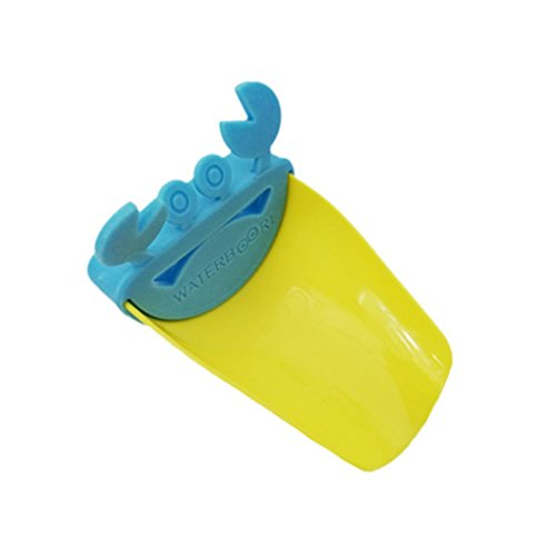 Boburyl Baño de Cangrejo Grifo Extender Guía niños Lindo Grifo del Fregadero Extensión bebé de la Historieta El Lavado de Manos Grifo