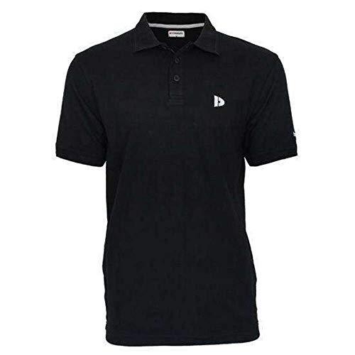 Donnay Essential Linear Polo Pique, noir