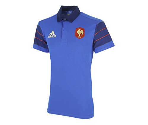 adidas Maillot France Rugby FFR Sup JSY Bleu S88855