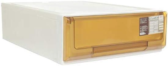 Citylife G-5114 BRW BEEGE 18L Single Tier Modular Drawer, 40 * 55 * 15.5cm, Brown