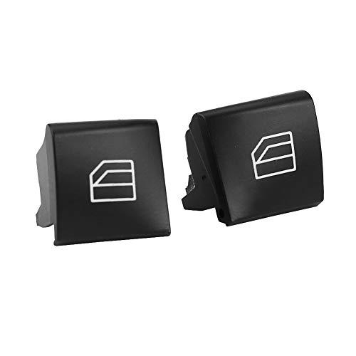KIMISS Bouton Leve Vitre Console Commutateur Vitre /électrique Capuchon pour W203 C230 C240 C280 C320 C350