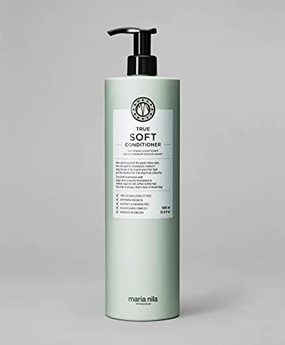 Maria Nila Care & Style – True Soft Conditioner 1l | Balsamo idratante per capelli secchi