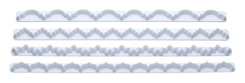 Sweetly Does it Fondant Border - 4 Piece Set
