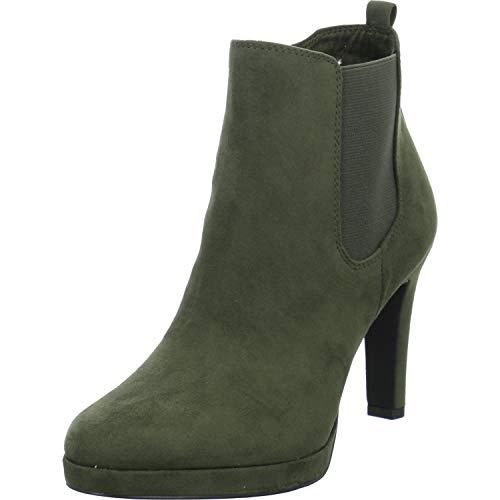 Tamaris Damen Stiefeletten 1-1-25704-23/722 grün 717508