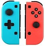 Tina @ Wireless Joy-Con para Switch, Joy Con (L-R) Mando inalámbrico compatible con Switch Consola Switch Mando a distancia Gamepad