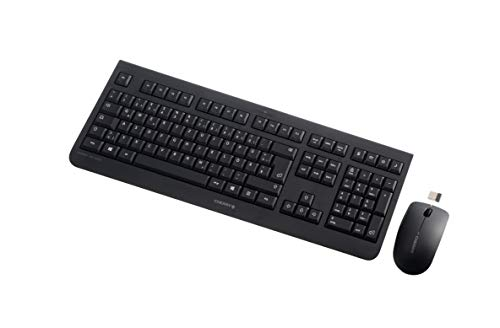 CHERRY Tas DW 3000 Wireless Desktop Black Tastatur+Maus