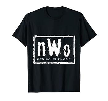 WWE nWo  Classic Logo  Graphic T-Shirt