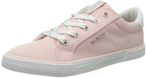 TOM TAILOR Mädchen 8070601 Sneaker, Pink (Rose 00175), 36 EU
