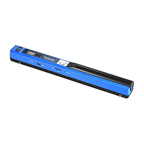 Escáner portátil del documento, pantalla LCD del formato del escáner 900DPI JPG/PDF de Wirelessr A4 con el bolso de protección y la tarjeta del TF
