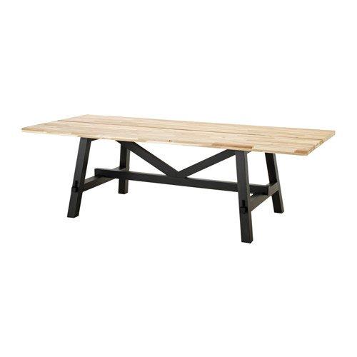 IKEA Dining Table, Acacia 2026.292329.2238
