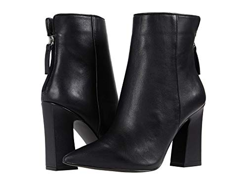 Steve Madden Sasa Bootie Black Leather 8.5 M