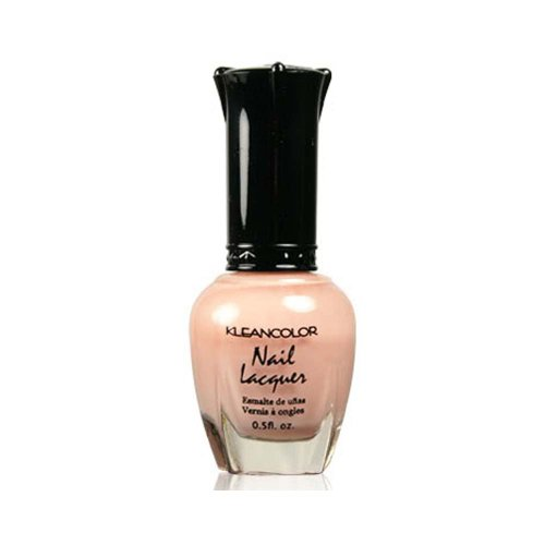 1 Kleancolor Nail Polish Lacquer #146 Sheer Pastel Nude Manicure + Free ZipBag Gift