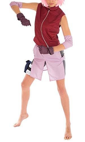 CoolChange Naruto Shippuden Kostüm von Sakura Haruno, Größe: XS