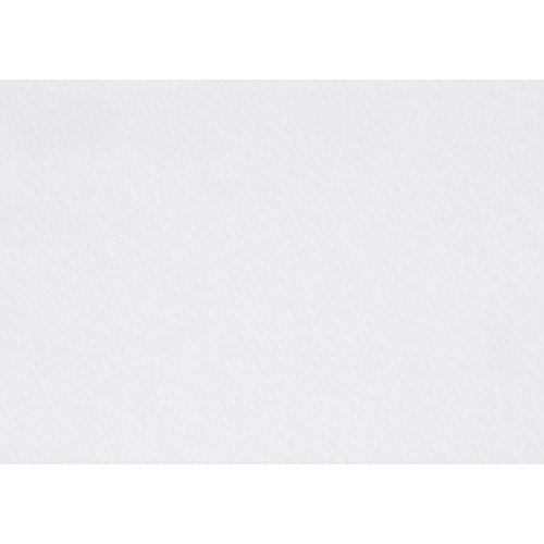 Creativ Company - Fieltro para manualidades (10 unidades), color blanco