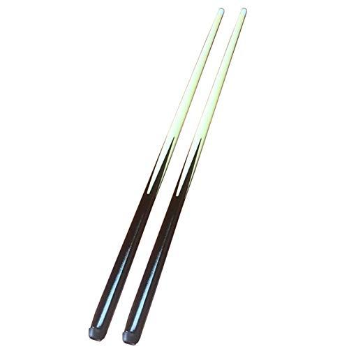 YRU 2 Piccole Stecche da Biliardo Fatte A Mano - Ideali per Spazi Ristretti E Giovani(Color:90CM)