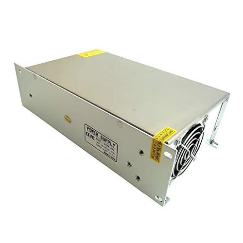 48V 20A 1000W Interruptor Fuente de alimentación Interruptor de pantalla Pantalla Fuente de alimentación de conmutación 48v para LED Strip Light ToGames-ES