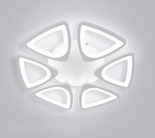 Lámpara de Techo LED, lámpara de Techo Moderna de Montaje Empotrado de 36 W 6, Panel acrílico Cerca de la lámpara de iluminación de Techo para Sala de Estar, Pasillo, Dormitorio, vestíbulo (