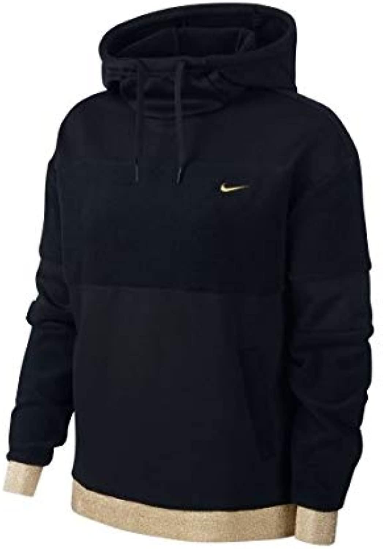 Nike W Icon Clsh FLC Po HD Long Sleeve Top, Damen