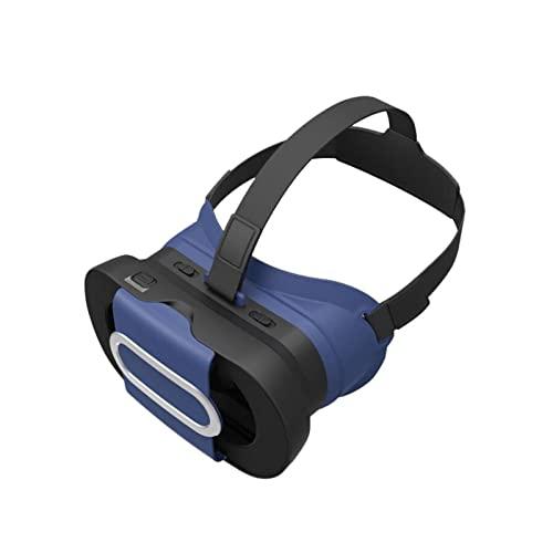 LJMG VR - Cuffie per realtà virtuale 3D, compatibili con smartphone da 4,7 a 6,5 pollici, con buona dissipazione del calore, angolo di visione di 96°, protezione degli occhi