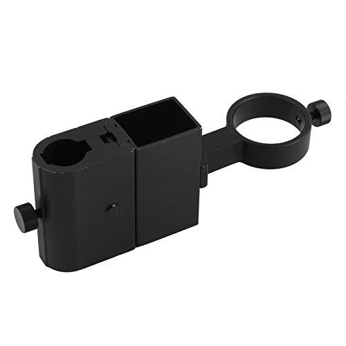 CHUNSHENN Diameter DIA 22mm Gear Zoom Viden Microscope Stand Part Holder 40mm 50mm Lens for CCD Digital Industry Microscope Camera (Color : Diameter 50MM)