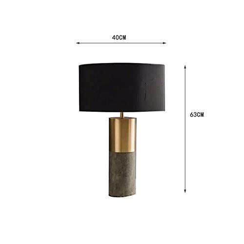 Lfixhssf Amerikaanse cementlamp, modern model, creatief design, hotelkamer, woonkamer, tafellamp, ingenieursuitrusting, Lfixhssf