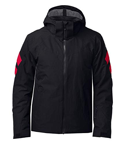 ROSSIGNOL Controle - Giacca da sci, da uomo, colore: nero, XL