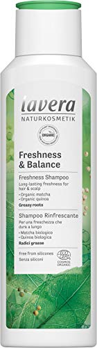 Lavera Shampoo Freshness and Balance, Freshness Shampoo, Hair Care, Natural Cosmetics, vegan, certified, 250ml