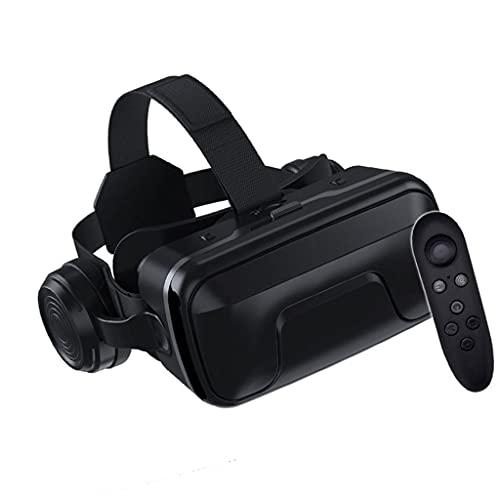 Occhiali VR con Bluetooth Telecomando 3D Visore Realtà Virtuale per Tutti Gli Smartphone e Guarda Film per iPhone 12/Pro/Max/11/X/8/7/6 per Samsung S10/S9/Note10/9 telefoni Android, 4.7-6.8in, H109ZJ