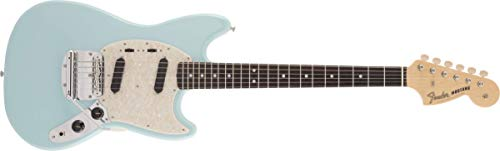 Fender エレキギター Made in Japan Traditional 60s Mustang®, Rosewood Fingerboard, Daphne Blue