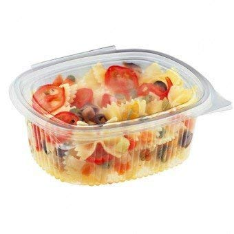 Palucart vaschette ovali in pet vaschette alimenti usa e getta 50 pz 1000cc