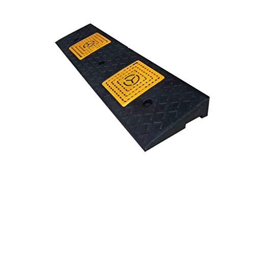 Q-kerf ramps 5 cm / 6 cm / 7 cm oprijplaat, motorfiets/scooter driehoekige hellingen slow down-service hellingen / kan in autowerkplaatsen, rijscholen etc. worden gebruikt