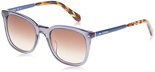 Fossil FOS2054s Square Sunglasses, BLUE NAVY, 52 mm