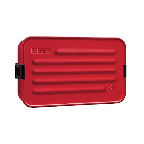 Sigg plus caja de metal, rojo, L